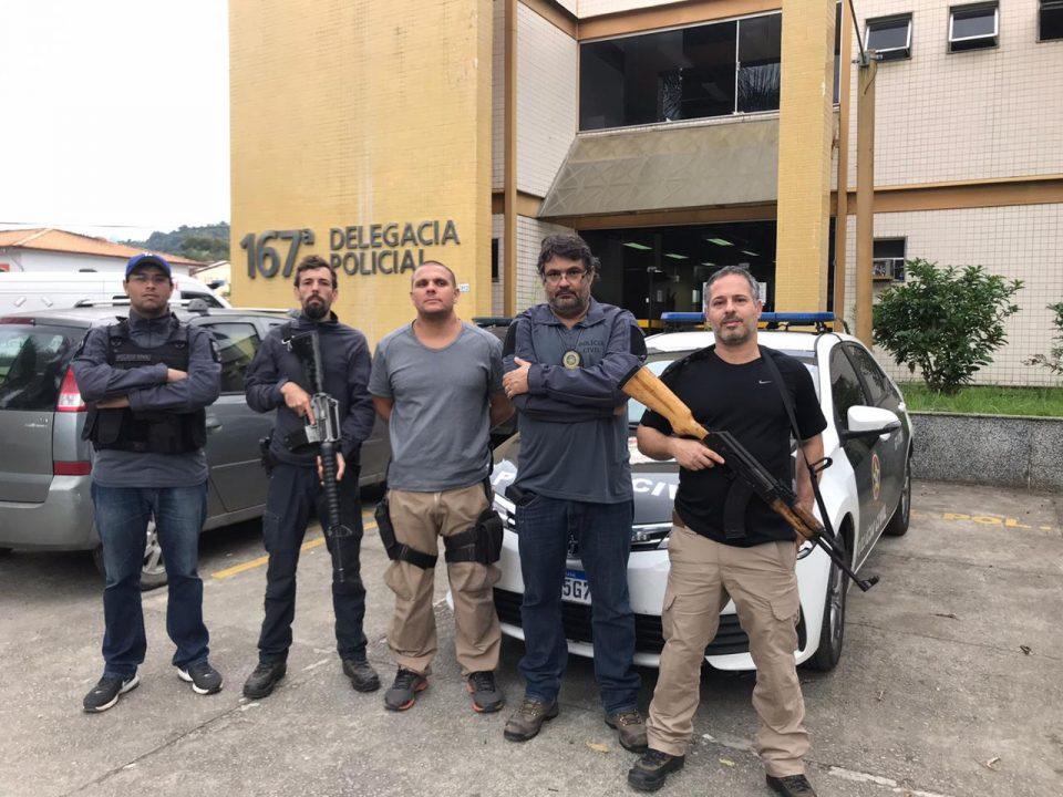 Policia Civil prende suspeitos de furto e arrombamento em lojas em Paraty
