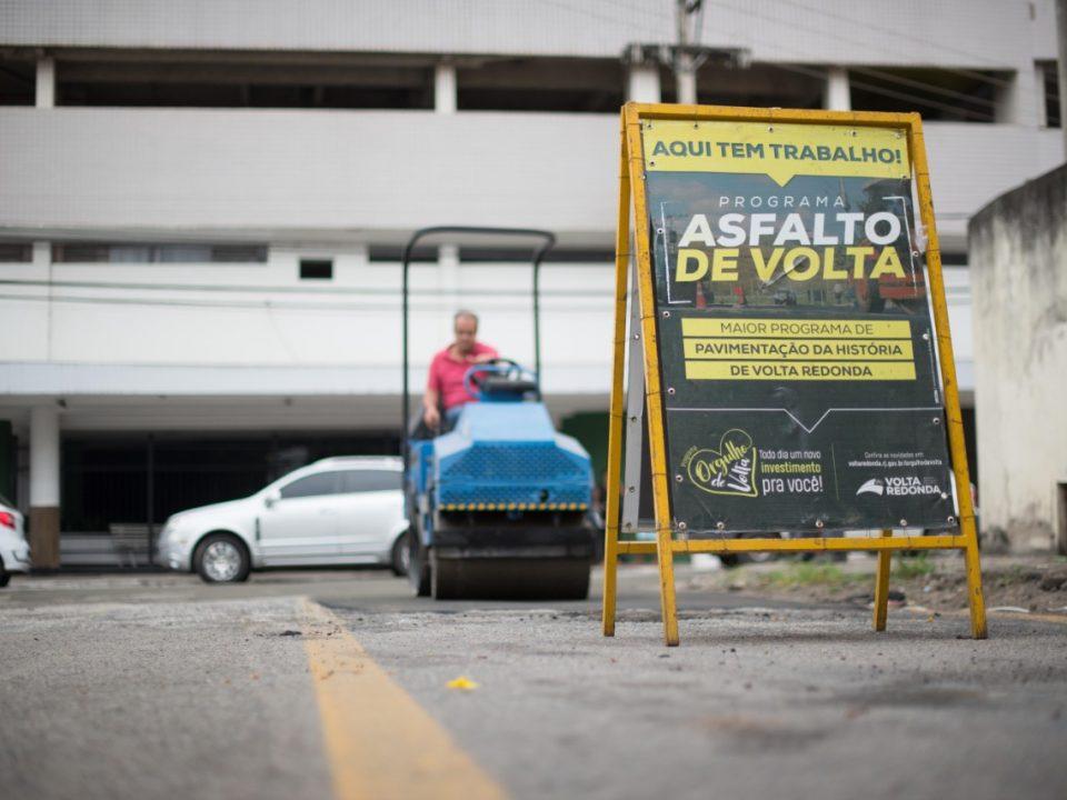Prefeitura de Volta Redonda realiza serviços de manutenção da cidade durante final de semana